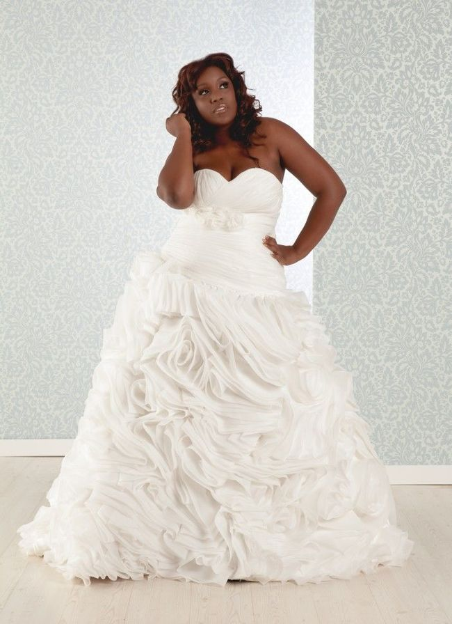 Vestidos de novia para gorditas 30 fotos e ideas   Novias y Bodas