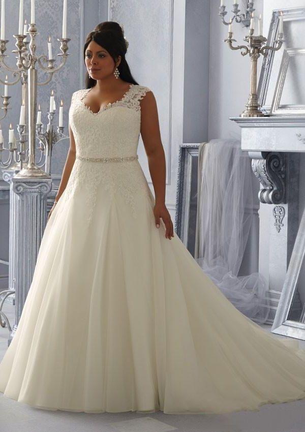 1369d962b0 Si tu cuerpo es bien redondeado ve por un vestido de una línea A