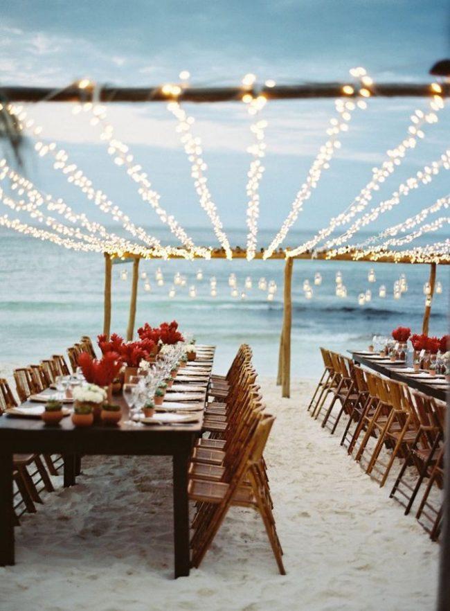 Bodas en la playa 50 fotos e ideas fabulosas novias y bodas - Decoracion boda playa ...