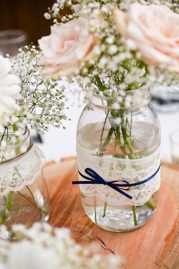 Centros de mesa para bodas 2017 de 100 fotos e ideas for Centros de mesa para bodas originales