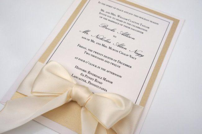 pero si vas a organizar una boda clsica nada mejor que optar por invitaciones elegantes y clsicas como stas que te mostramos aqu - Invitaciones De Boda Elegantes