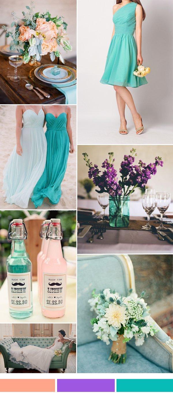 Colores para bodas 2018 + de 350 fotos e ideas | Novias y Bodas