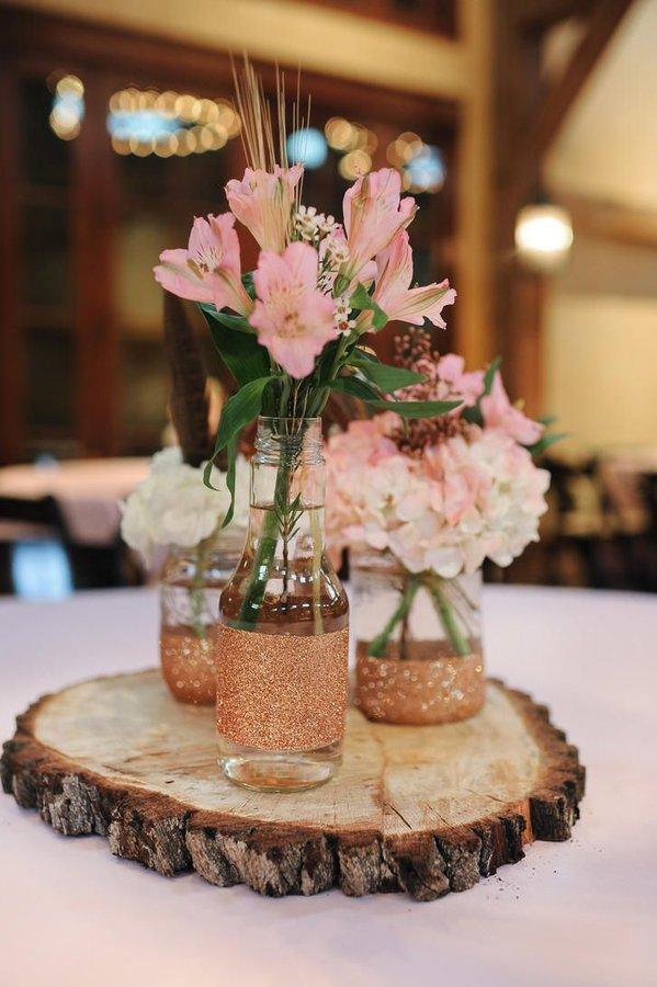 Centros de mesa para bodas 2018 de 100 fotos e ideas Novias y Bodas
