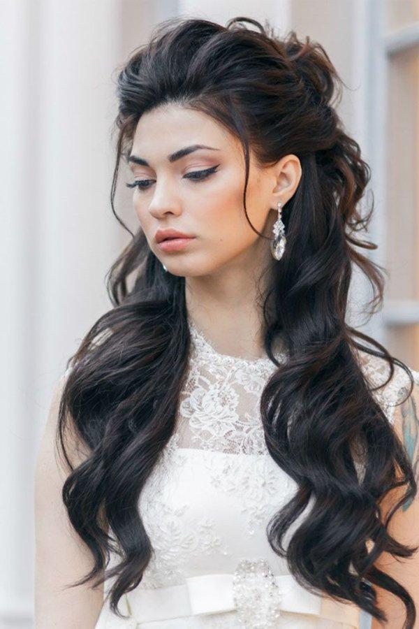 Peinados De Novia 2019 Actuales 90 Fotos Y Tendencias