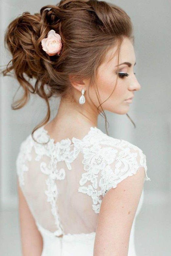 Peinados de novia 2017 actuales 90 fotos y tendencias - Peinados de novia modernos ...
