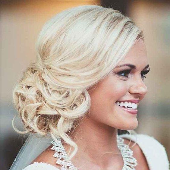 peinados de novia recogidos desordenados - Peinados Actuales
