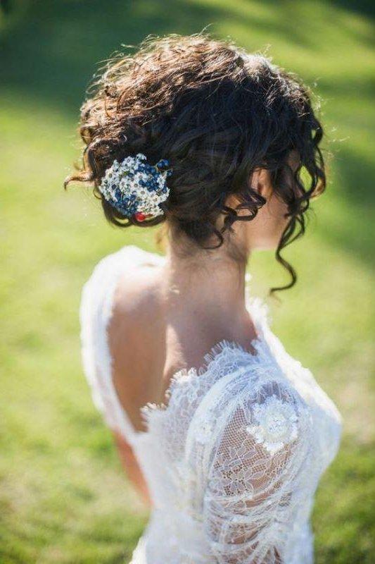 Peinados De Novia Con Pelo Rizado 2019 Novias Y Bodas