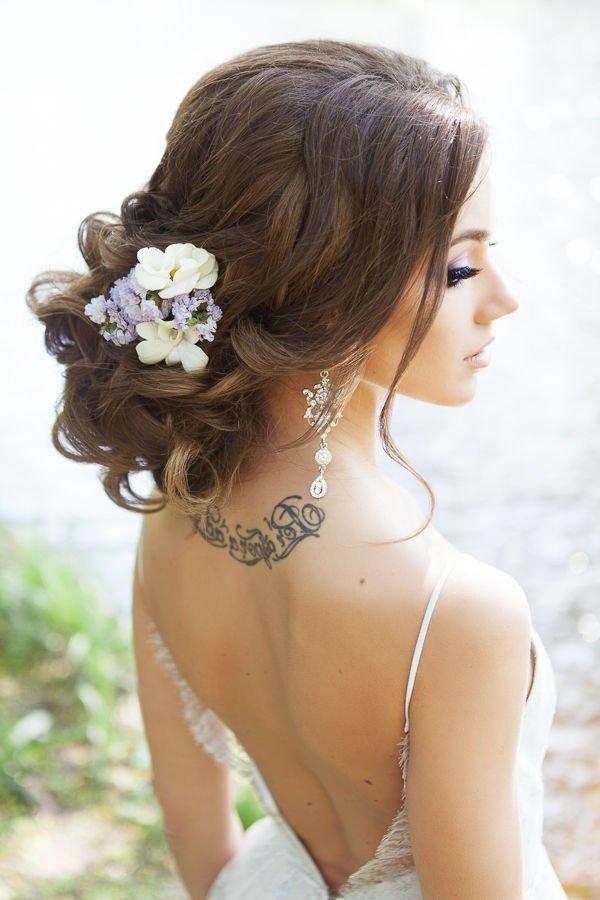 Ideas bonitas para peinados bodas 2021 Fotos de cortes de pelo tutoriales - Peinados de novia recogidos 2021 tendencias y 90 fotos