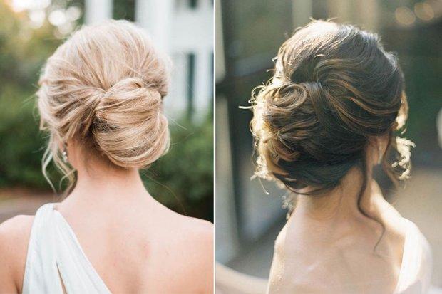 peinados de novia recogidos altos - Peinados Bajos