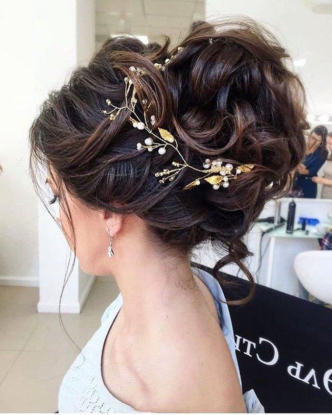 De moda peinados de novias Galería De Consejos De Color De Pelo - Peinados de novia recogidos 2021 tendencias y 90 fotos