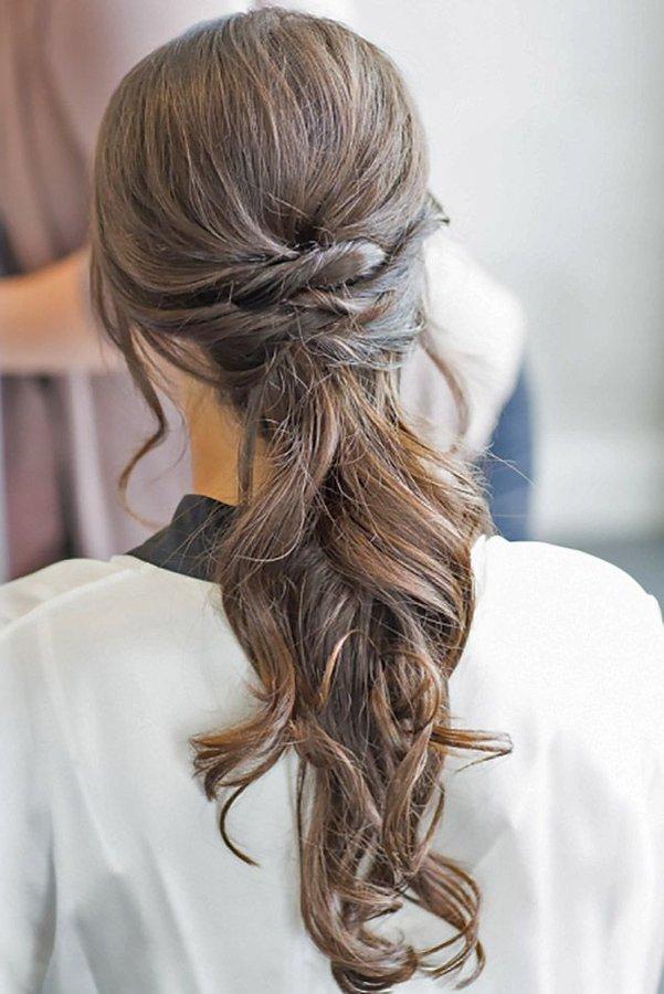 Rápido y fácil peinados bodas 2021 Colección De Tutoriales De Color De Pelo - Peinados de novia para pelo largo 2021 2020 | Novias y Bodas