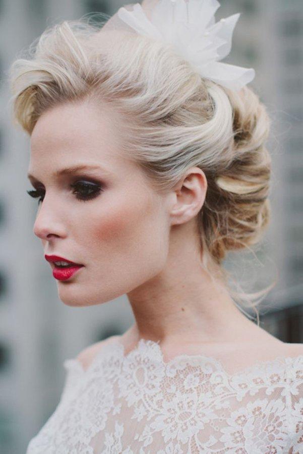 Peinados de novia para pelo largo 2018 novias y bodas - Peinados de novia actuales ...