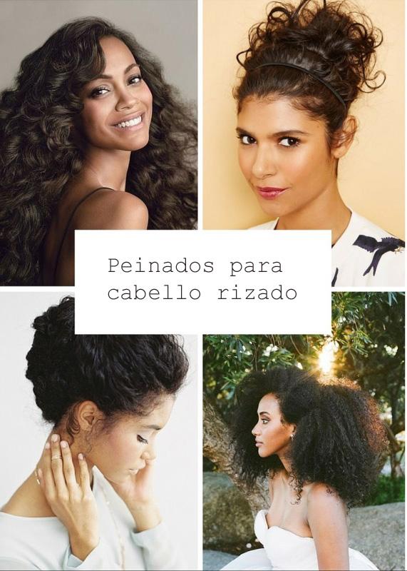 Peinados de novia con pelo rizado