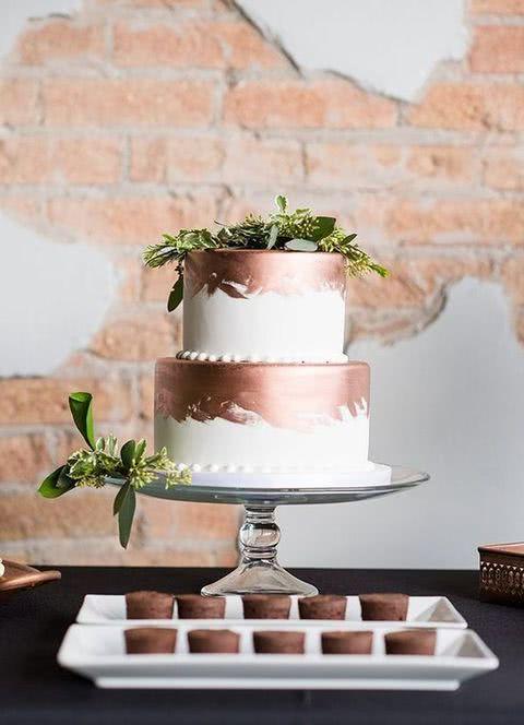 492247e00 Pasteles de boda 2019 + de 130 fotos y tendencias