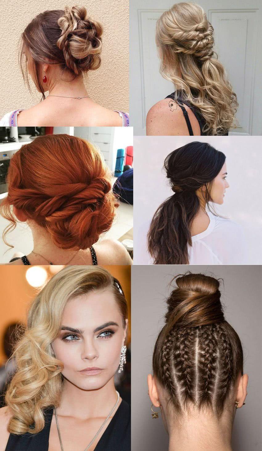 Peinados modernos para novias jovenes