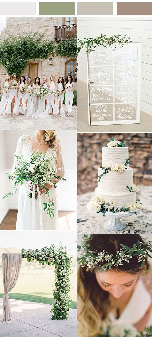 0985e9af1653d Colores para bodas 2019 + de 350 fotos e ideas