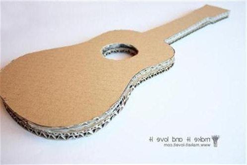 Guitarra De Cartón Cómo Hacer Paso A Paso Nuestros Hijos