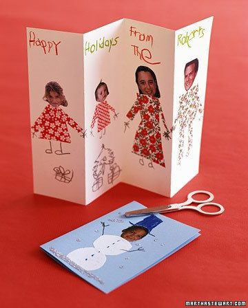 Tarjetas artesanales de navidad 5 ideas para ni os - Ideas para postales de navidad ...
