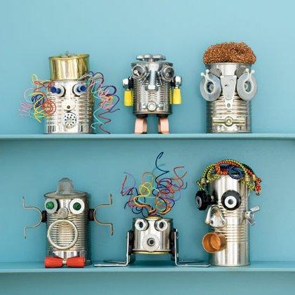 Manualidades para ni os recicladas 6 ideas f ciles y - Manualidades faciles con latas ...