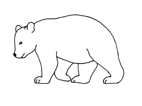 Como Dibujar Un Oso 2 Métodos Fáciles Paso A Paso Nuestros