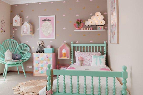 Dormitorios vintage para ni os o beb s nuestros hijos for Cuartos para ninas vintage