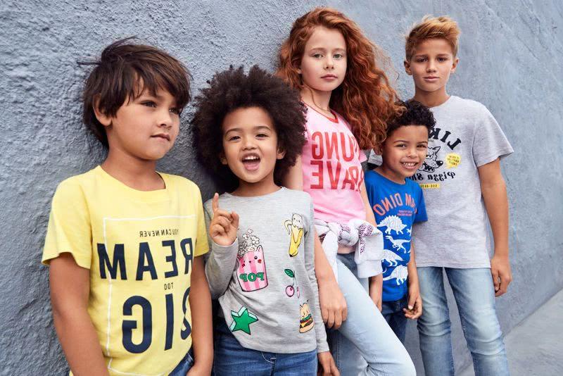 H&M niños catálogo
