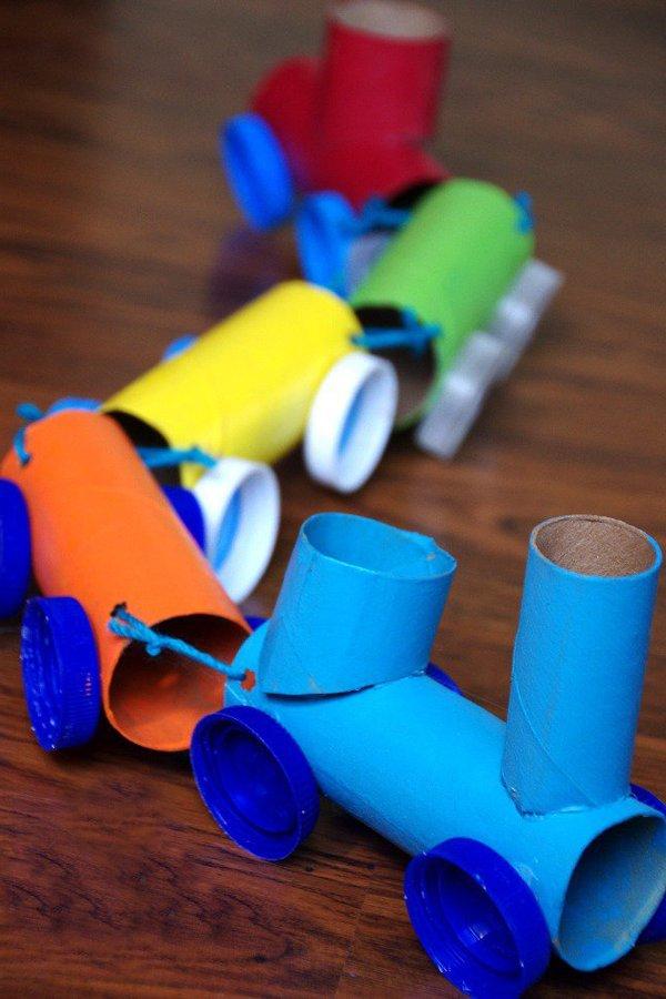 Manualidades con tubos de papel para ni os de 20 ideas nuestros hijos - Que manualidades puedo hacer ...