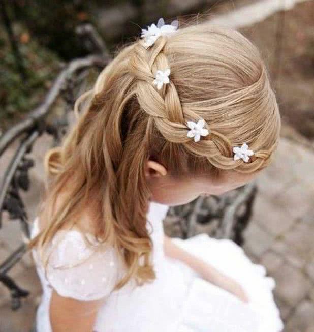 Extremadamente atractivo peinados para niñas para boda Galería de cortes de pelo Ideas - Peinados para niñas de fiesta, ceremonia o bodas 70 fotos ...