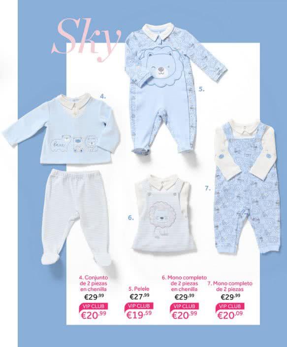 brillo encantador variedad de diseños y colores últimos lanzamientos Prenatal catálogo 2019 bebés niños y premamá | Nuestros Hijos