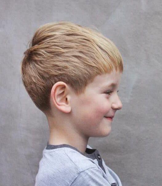 Imagenes de cortes de pelo en ninos