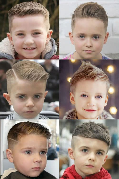Cortes de pelo para niños