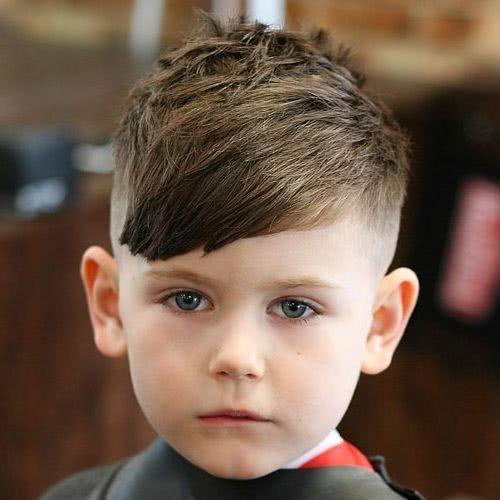 Diferentes cortes de pelo para ninos