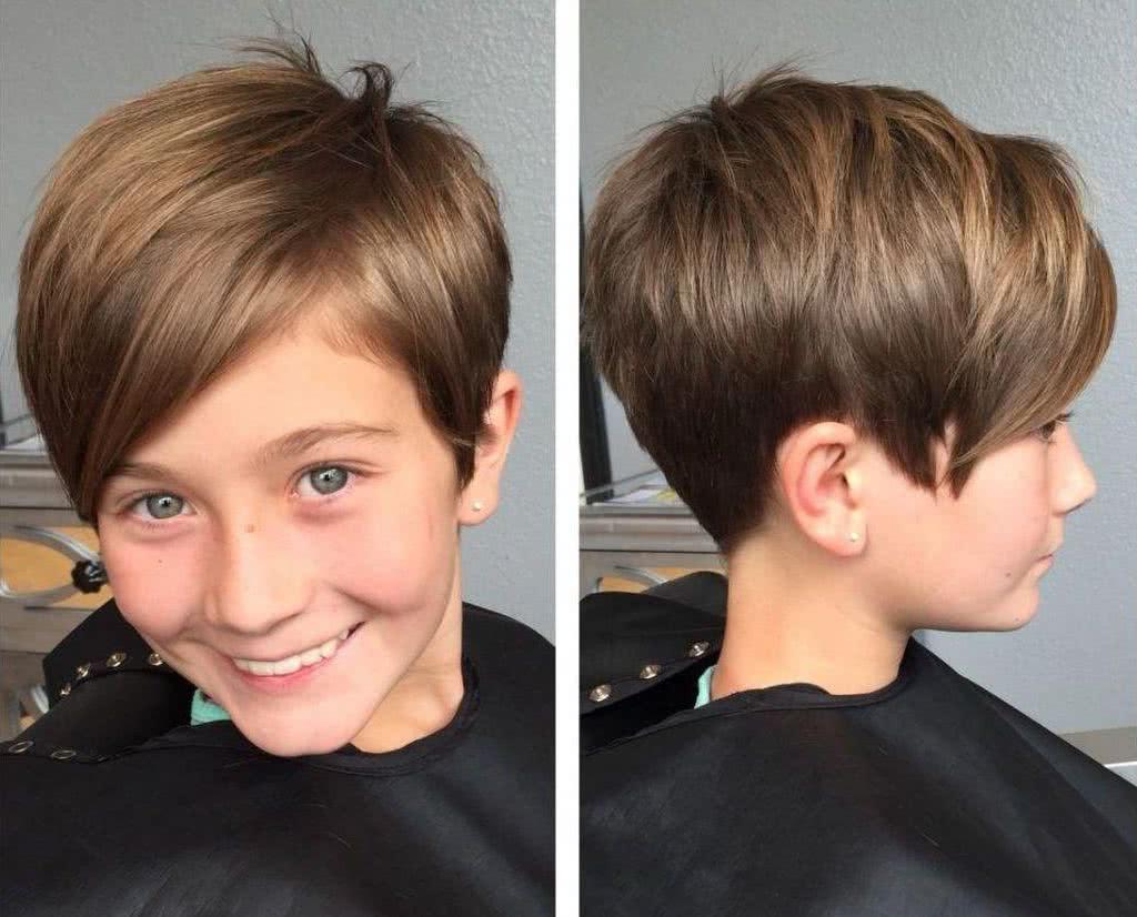 Corte de pelo corto para ninos 2020