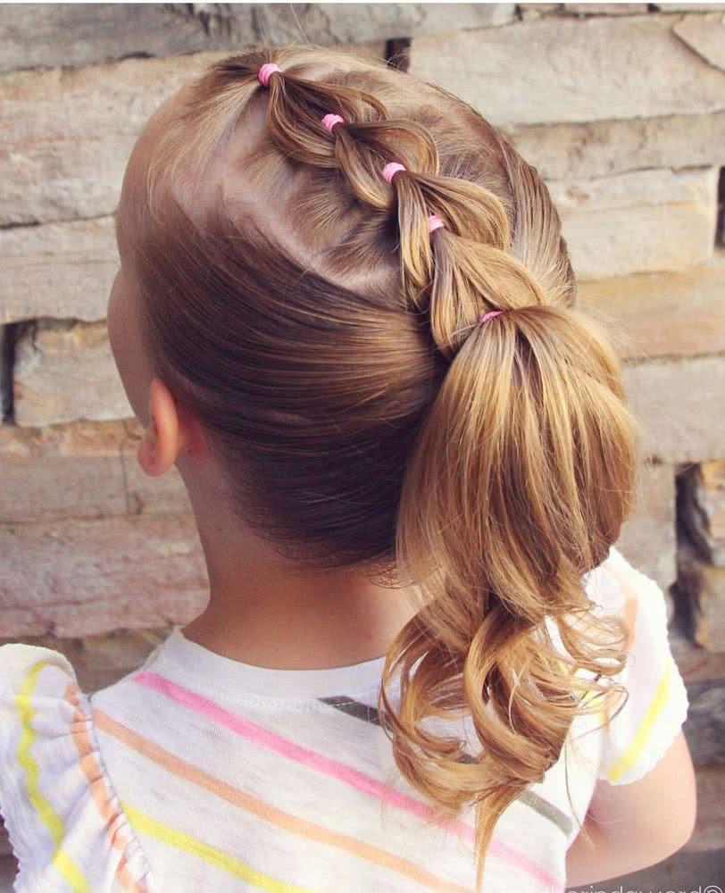 Encantador peinados de flamenca para niñas Galería de ideas de coloración del cabello - Peinados para niñas 2021 2022 - fotos y vídeos paso a paso