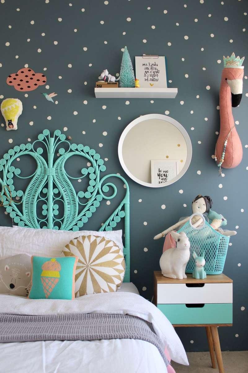 Dormitorios vintage para niños o bebés