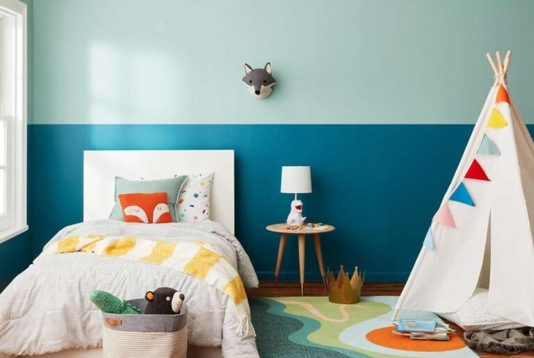 Colores para dormitorios de niños