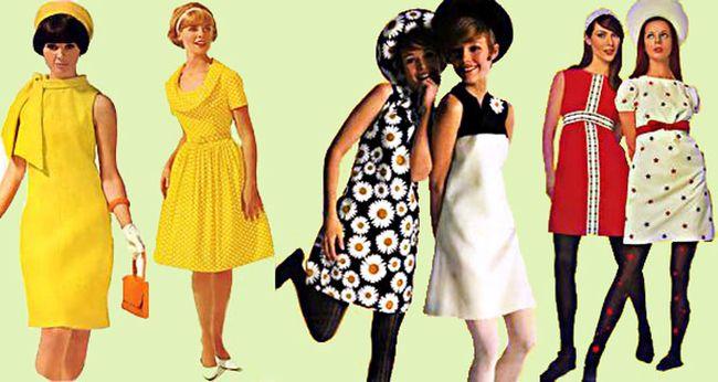 Vestidos de los 60 para mujeres