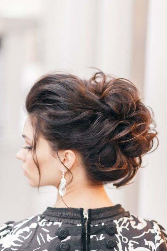 Peinados recogidos despeinados o flojos