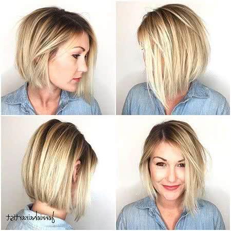 Corte de pelo corto a los lados y largo arriba mujer
