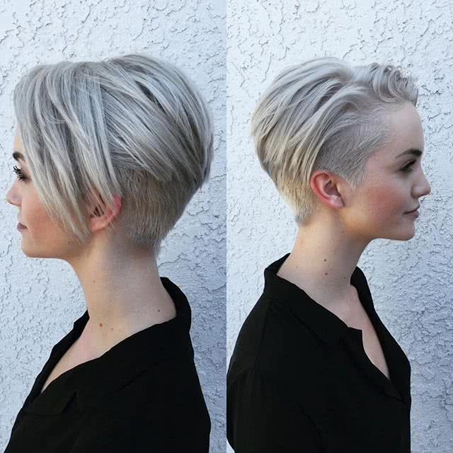 Cortes De Pelo Corto Ver Nucas Peinados Modernos