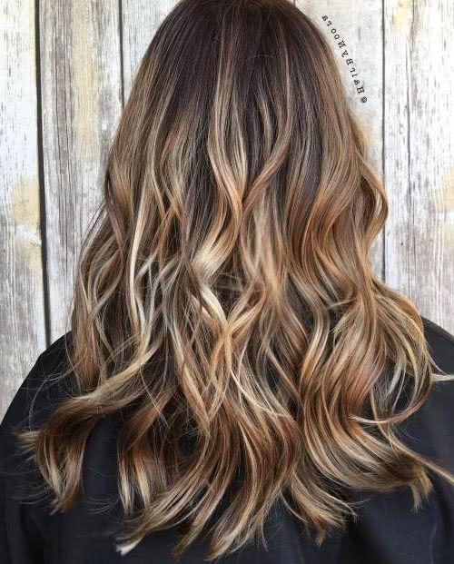 Cortes de cabello largo 2018 Caf Verstil