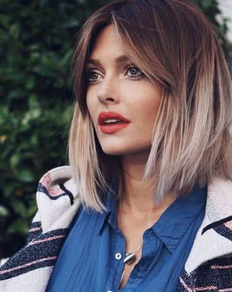 Corte long Bob 2019 tendencias y 40 fotos
