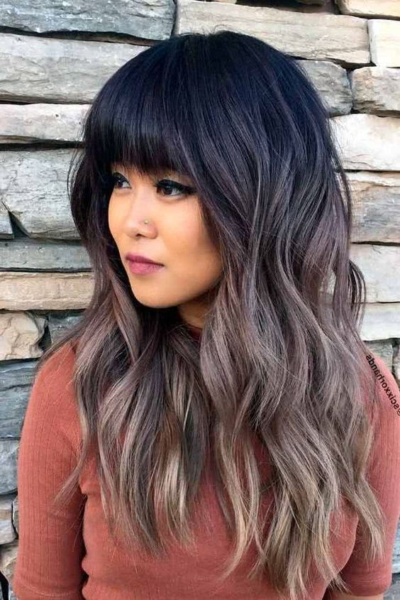 Cortes cabello liso largo