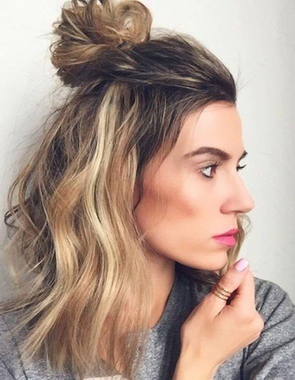 Peinados Con Cabello Suelto 2019 Cafe Versatil
