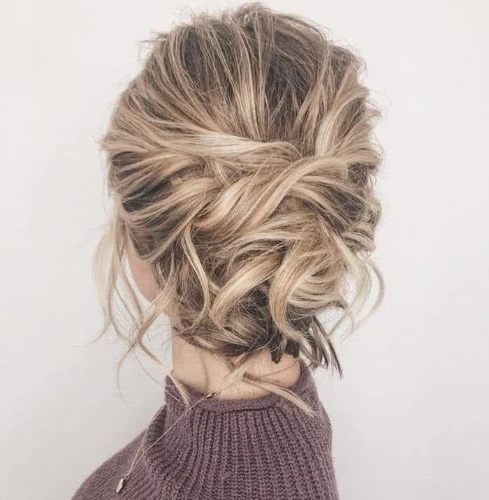 Peinados recogidos cabello corto paso a paso