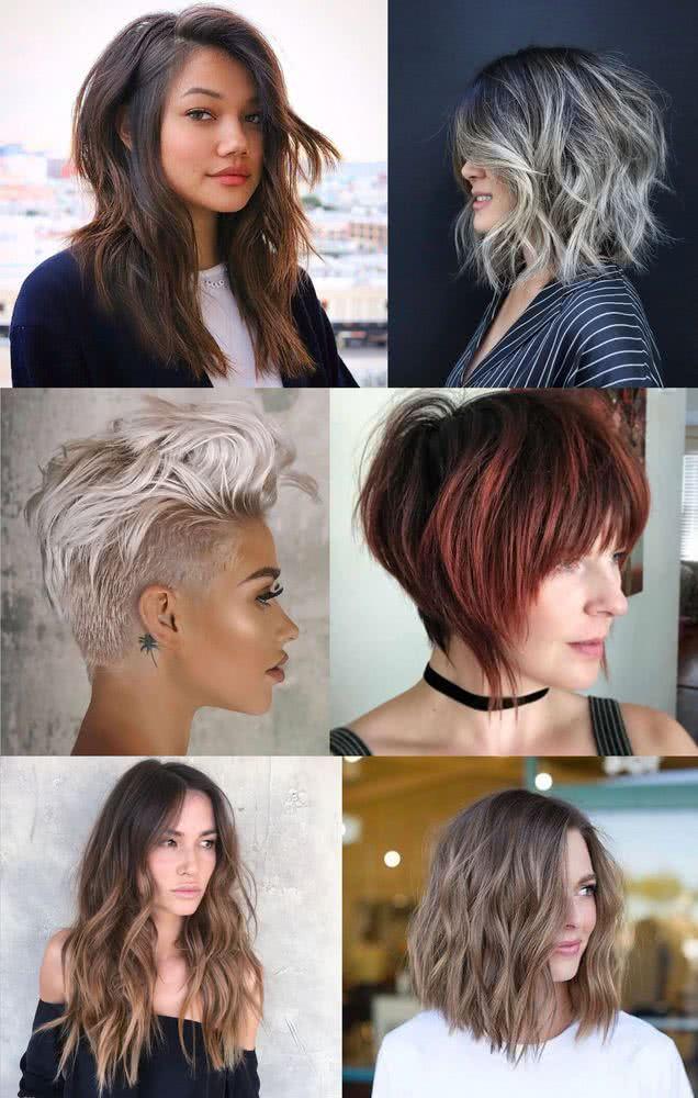 Cortes de pelo corto de chica 2020