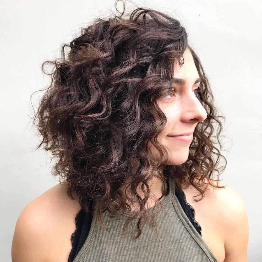 Cortes de cabello en pelo crespo